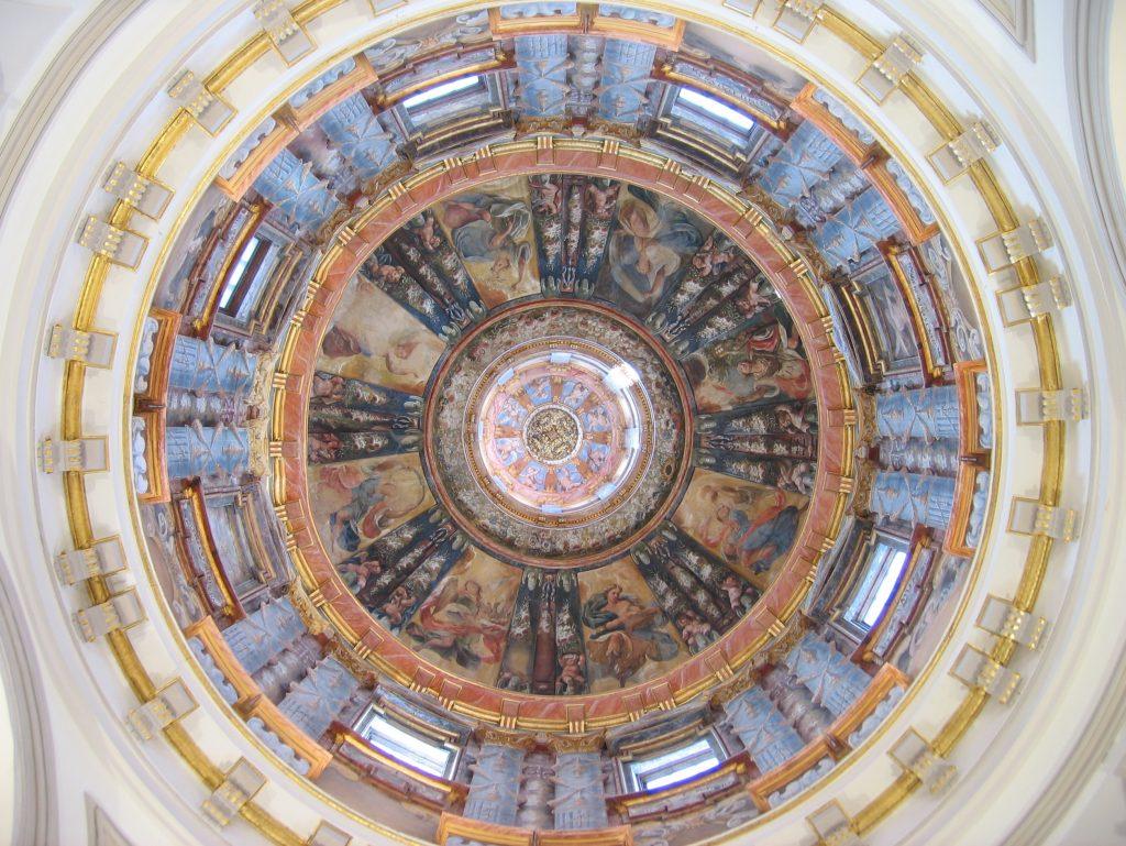 Bóveda de la Capilla de las Santas Fromas - Alcalá de Henares - Nártex